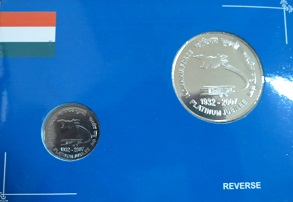 INDIAN AIR FORCE 2 COIN  SET